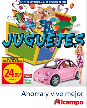 Juguetes Alcampo