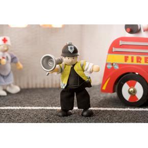 Policíaspan Policemanspannbsp; Madera Policemanspannbsp; Budkins Budkins nbsp;muñeco bfy76gY