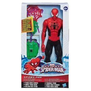 Con Equipo Figura Spider Titan man Redes Lanza 29WYIHED