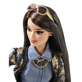 Barbie Denim Muñeca Raquel Luxe Style Chaqueta oro ED9IHYW2