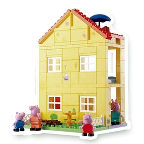 La Pig Casa De 84 Peppa Piezas 29WDIEHY