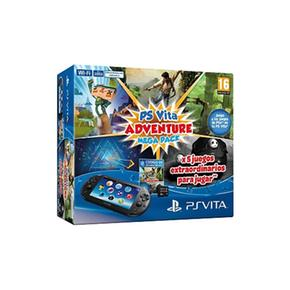 Ps Vita – Consola + Mega Pack Adventure + Mc 8 Gb