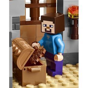 Noche La Lego Primera Minecraft 21115 5R4j3AL