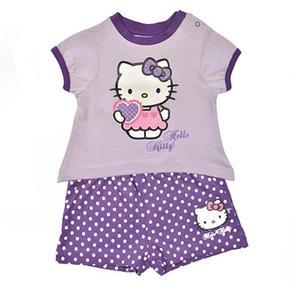 Hello Kitty – Conjunto Violeta 6 Meses