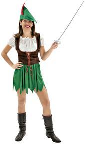 Disfraz Adulto Mujer Robin Hood