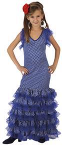 Disfraz Faralae Infantil Azul Talla 10 A 12 Años