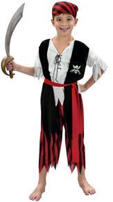 Disfraz Infantil Niño Pirata Talla L