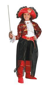Disfraz Infantil Niña Pirata Talla 9 A 10 Años