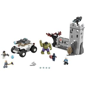 Súper La Ataque Lego Fortaleza Héroes A De 76041 Hydra 8mNnw0v