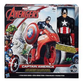 Vengadores Capitán Los América Figura Vehículo Titan Con kZuPXi