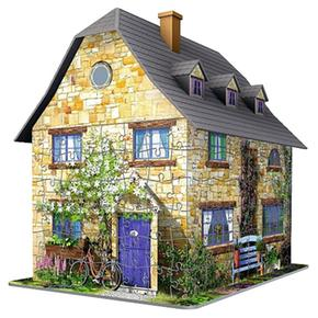 Building English Ravensburger 3d Puzzle Cottage gb76yYf