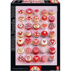 Educa Borrás – Puzzle Cupcakes 1000 Piezas