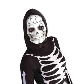 Disfraz Adulto – Máscara Calavera Con Capucha