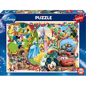Educa Borrás – Puzzle 1000 Piezas – Mundos Disney