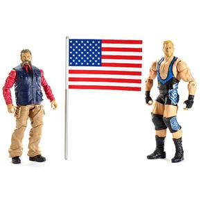 Zeb Colter 2 Figuras Vs Jack Wrestling Wwe Swagger Pack iPOXTkZu