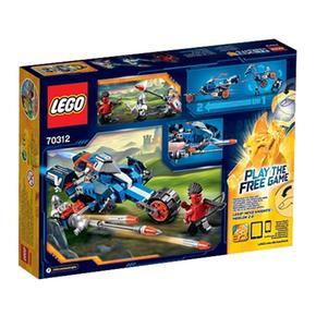 Nexo Lego 70312 De Knights Lance Caballo Mecánico lFTK13Jc