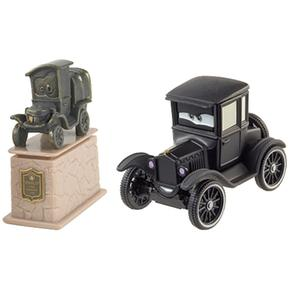 Cars Stanley Lizzie Coches Pack 2 Statue Y N0nwOPkX8
