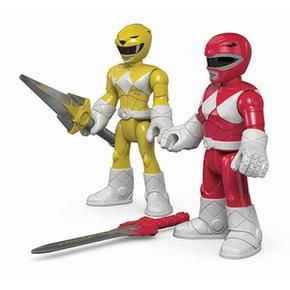 Rangers Y Price Amarillo Fisher Power Rojo Imaginext jq3RS54ALc