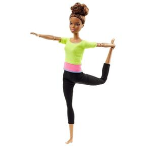 Verde Y Límites Sin Top Rosa Movimientos Barbie Muñeca EDI9WH2
