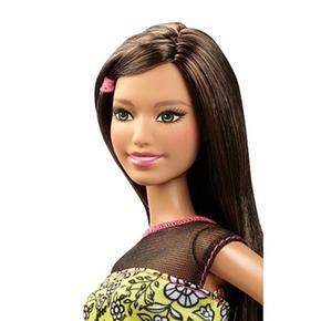 Falda Raquel Barbie Muñeca Fashionista Blanca R435AjL