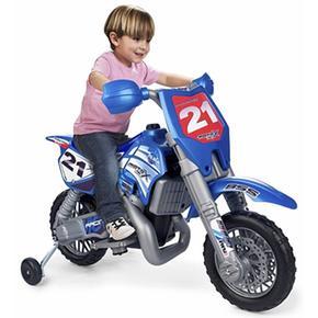 - Moto Cross Con Casco Feber