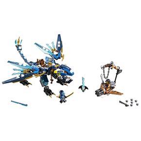 Elemental Lego Jay Dragón Ninjago 70602 De J13FcTlK