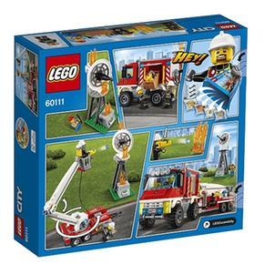 60111 Bomberos Camión Polivalente De City Lego wm0vn8N