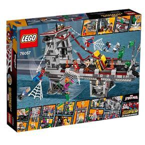 Spider Los Súper Héroes manCombate Lego Definitivo Entre Arácnidos76057 Guerreros Y76gbfvy