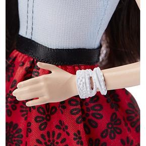 Barbie Rojo Negro Falda Y Fashionista Muñeca tsQohrBdCx