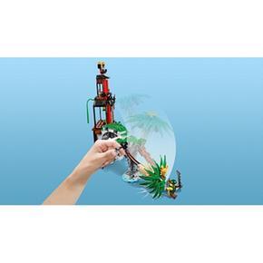 De Ninjago Isla 70604 Lego Viuda Del La Tigre OkXuiTPZ