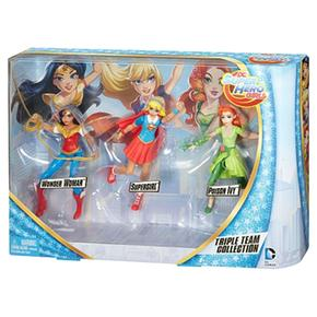Dc Girls Hero Pack 3 Figuras Super fb7gy6