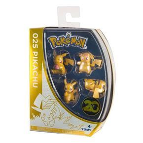 Pokémon – Set De 4 Figuras (varios Modelos)