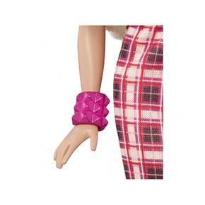 Barbie N Falda Cuadros Rock Muñeca Roll Fashionista gbf7yY6