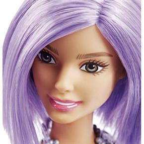 Barbie Pelo Barbie Muñeca Fashionista Lila MGqpVzSU