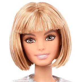 Pelo Corto Barbie Muñeca Fashionista Rubio 8nN0yvmwO