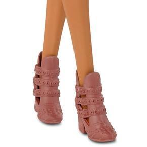 Barbie Pitón Rosa Muñeca Fashionista Piel De Vestido wNnOyvm80