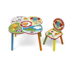 Fisher Price – Set Mesa + 1 Silla En Colorbox