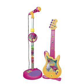 Trolls – Set De Micrófono Y Guitarra