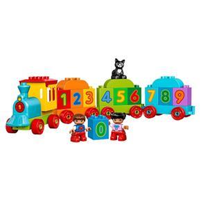 De 10847 Lego Los Números Duplo Tren O08wXPnk