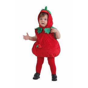 Disfraz Bebé Fresa Cuerpo 0 A 12 Meses