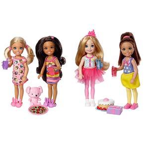 Barbie 2 Muñecas Pack Chelseavarios Club Modelos NknO8PX0w