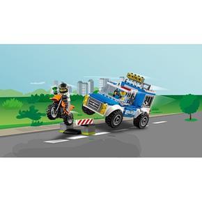 Lego Junior Furgón Policía De En Acción La 10735 PZkXuOiT