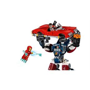 Héroes Ataque Iron ManEl De Acero Lego 76077 Súper Detroit trhCsQd