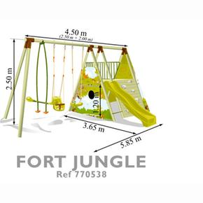 Jungle Juego Soulet De Fort Area c1lFKJ