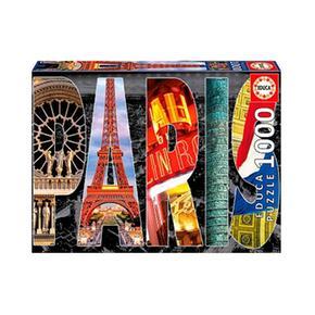 Borrás 1000 Piezas Paris Educa Puzzle CordBxe