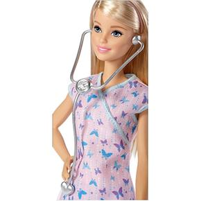 Yo Barbie Muñeca Puedo Pantalón Ser Lila Enfermera odxeBrC