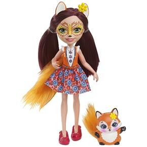 Enchantimals Muñeca Fox Y Mascota Felicity 8O0knwXNP