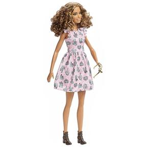Barbie Fashionista Barbie Vestido Cactus Muñeca Muñeca OXiukZPT