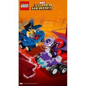 VsMagneto 76073 MicrosLobezno Súper Lego Héroes Mighty OiXZkuP