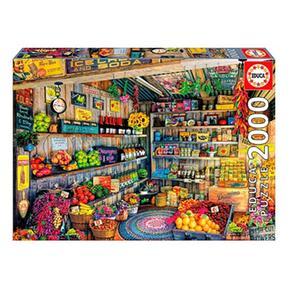 Educa Borrás – Tienda De Comestibles – Puzzle 2000 Piezas